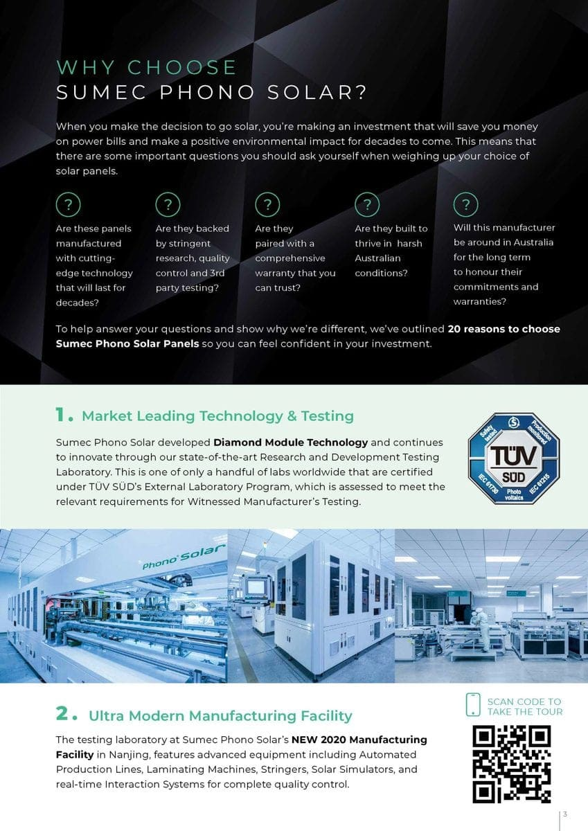 Why Choose Sumer Phono Solar brochure page 3