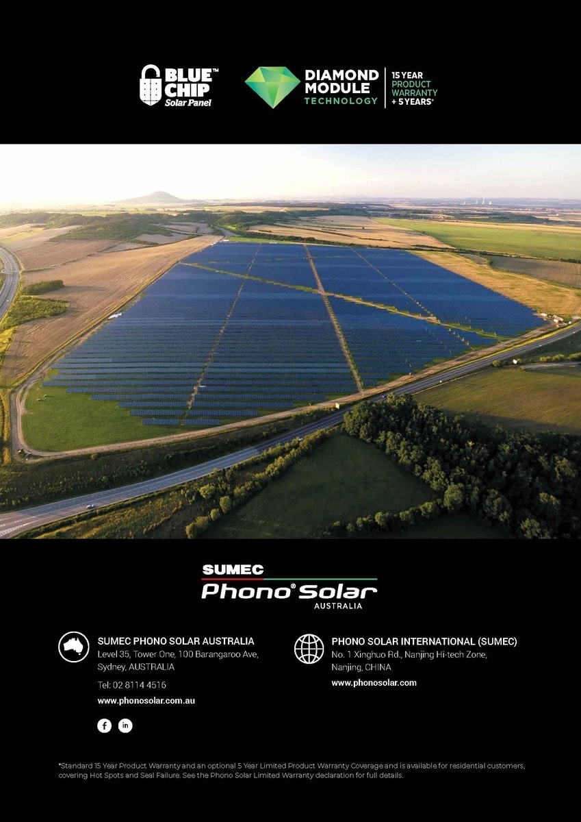 20 Reasons to Go Solar with Sumec Phono Solar brochure page 8