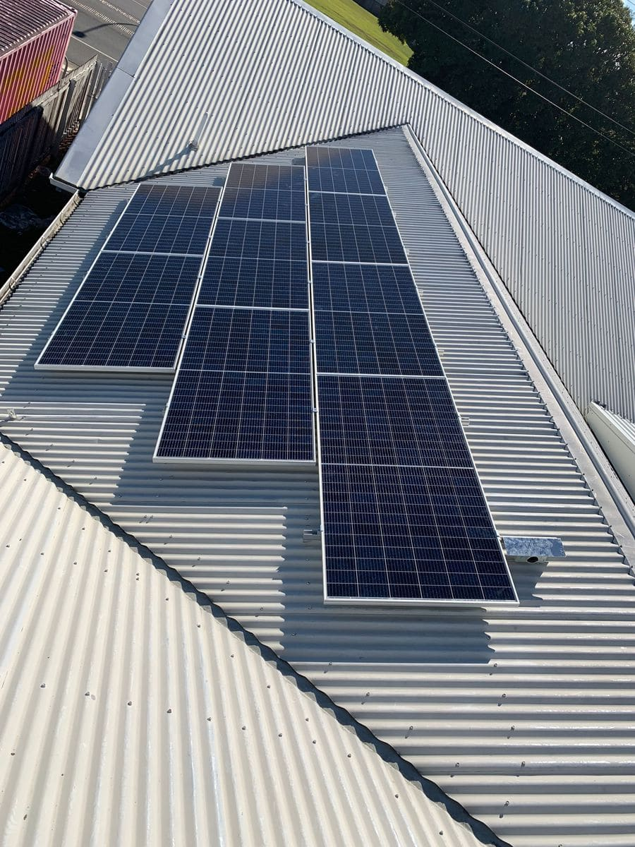 residential solar cairns roof photo