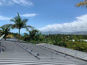 port douglas residential solar system roof photo